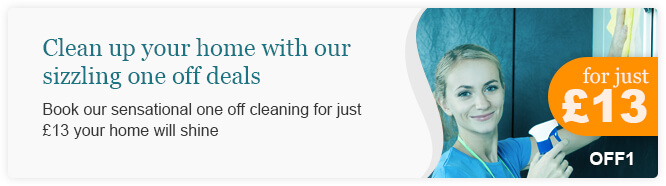 Sizzling Deals for One off Cleaning