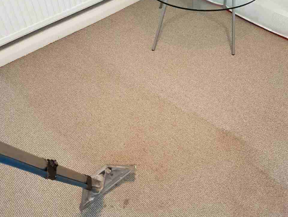 how to clean iodine off carpet