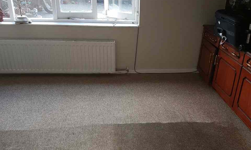 floor clean E10 office carpet cleaning