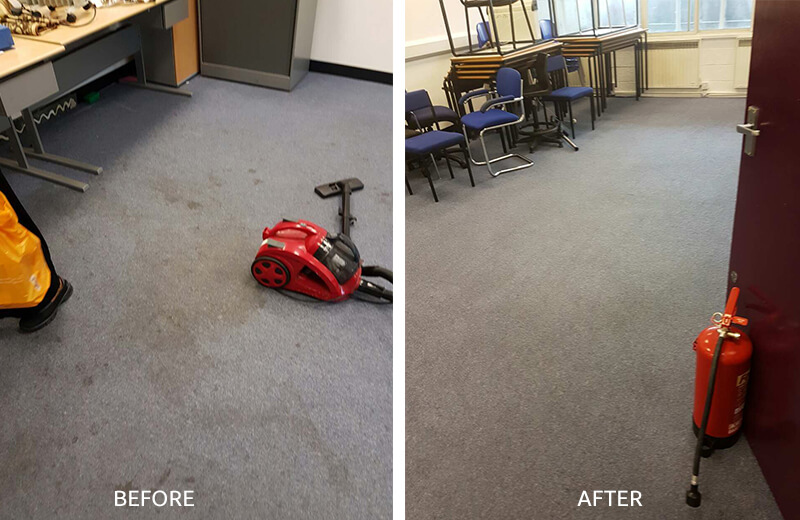 floor clean NW3 office carpet cleaning