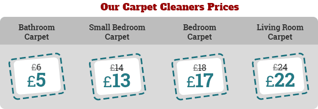 The Lowest Rates on Carpet Cleaners Services across E5 Region